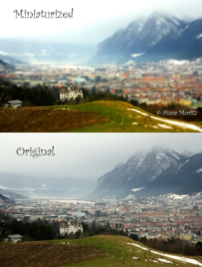 Innsbruck Tilt-Shift