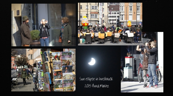 sun eclipse , Innsbruck